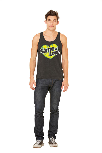 "Unisex Vintage ""Same Love"" Tank Top (New)"