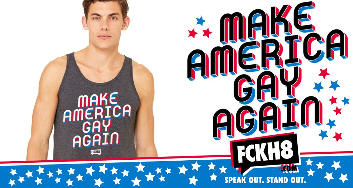 0523aeca225 Gay Pride, Anti Racism, and Feminist Shirts and Accessories. FCKH8 clothing  and accessories let ...