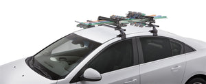 SportRack® Groomer Deluxe Roof Rack Locking Hardware Included For Up To 6 Skis Or 4 Snowboards