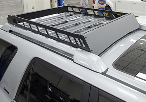 Aluminum Modular Roof Rack Bolt On Textured Black