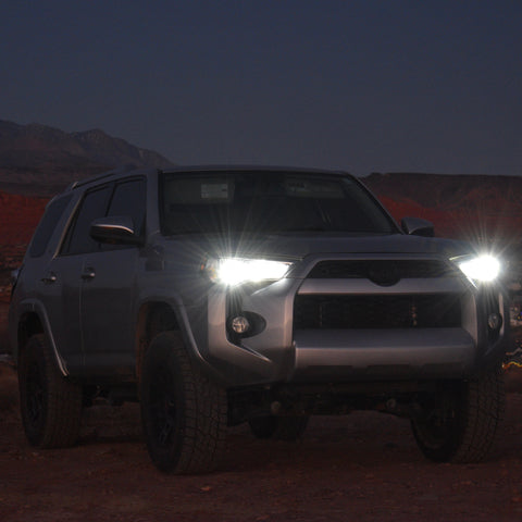 Toyota 4Runner LED High Beam Swap Set for Super White and Bright Look