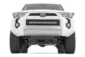 Hidden Bumper Black Series LED Light Bar Kit 30 in. Dual Row Light Bar [6] 3W High Intensity Cree LEDs 14400 Lumens 180W Incl. Mounting Brkts. Light Cover