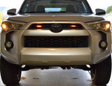 Toyota 4Runner classic amber marker light while on