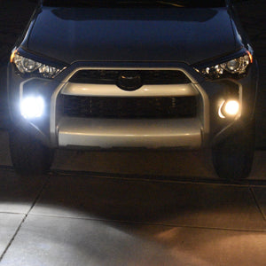 Toyota 4Runner Fog Light swap set comparison