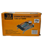 Inflador de pie 55x100mm doble tubo - REF: BO255YX