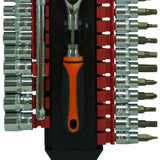 "Ratchet X 28pcs DE ¼"" REF:HC99132"