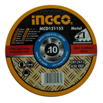 Disco corte 4-1/2 X 3/64 X 7 Metal 10pcs