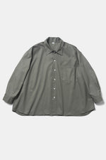 10XL Big Shirts - Vert Otan / Made with French Military Fabric