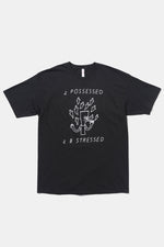 2 Possessed 2 B Stressed T-shirt / Small Spells