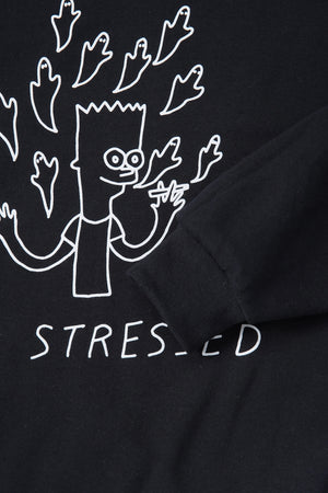 2 Possessed 2 B Stressed Sweatshirt / Smallspells