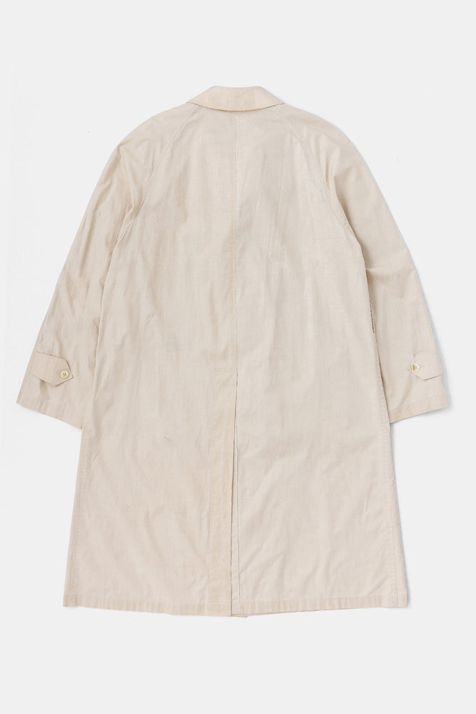 80's Burberry Balmacaan Coat