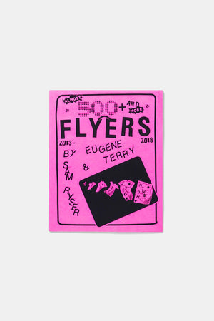 500 Flyers Book by Eugene Terry and Sam Ryser