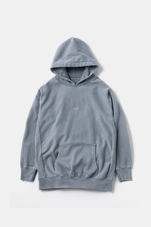 5GS Pigment Dyed Sweat Parka Gray