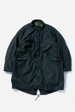 M-65 Fishtail Parka Black Over Dye