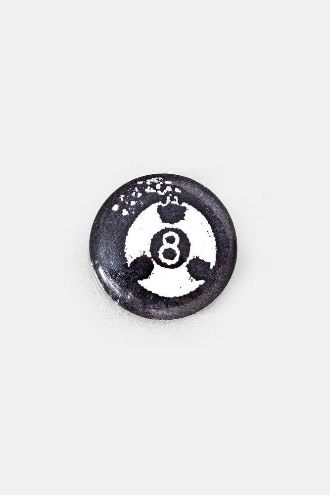 8 BALL Can Badge