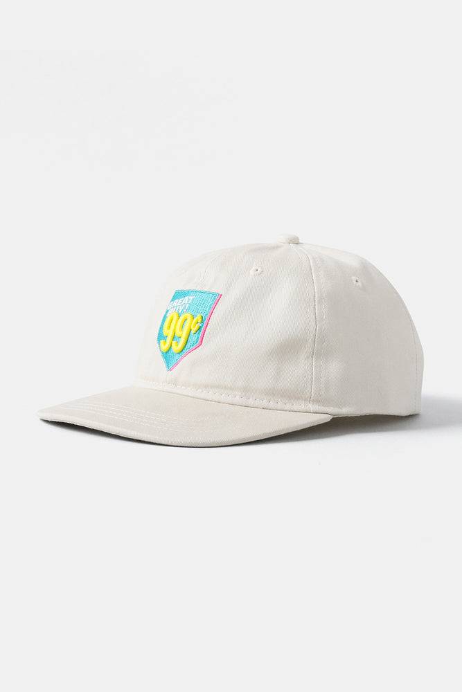 Great Buy 99 Cents Embroidered Baseball /  Offwhite
