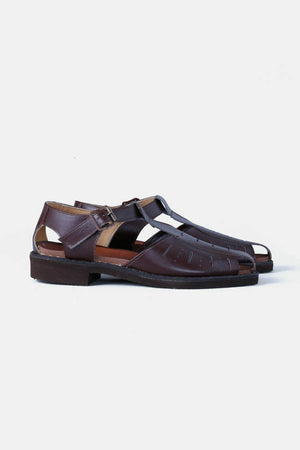 Czech Military Leather Sandales / Brown