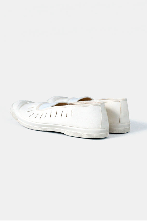 Czech Military White Canvas Shoes