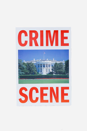 """CRIME SCENE"" Poster By Cali Thornhill Dewitt"