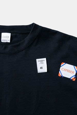 CAMBER 3XL,4XL S/S TEE BLACK