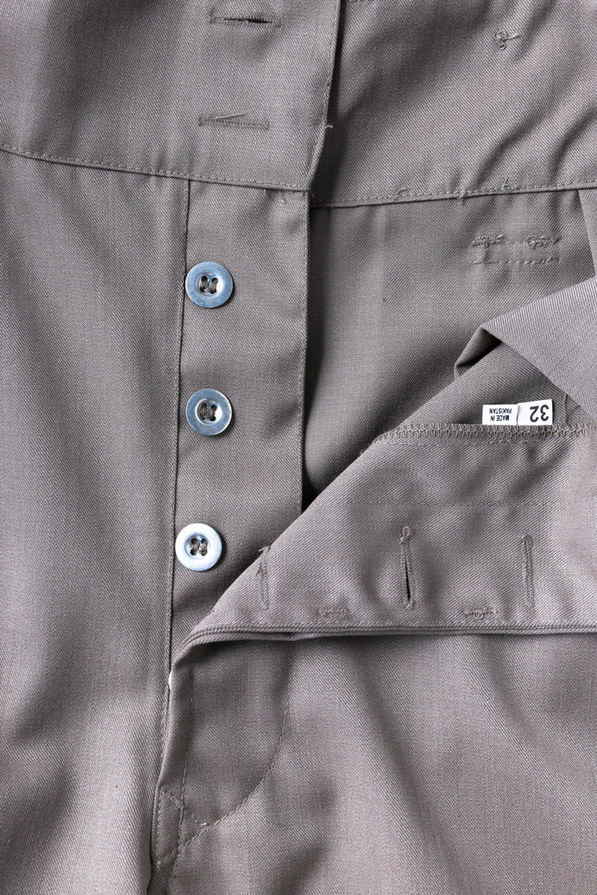 Gurkha Wide Trousers - Gabardine / Made in Pakistan