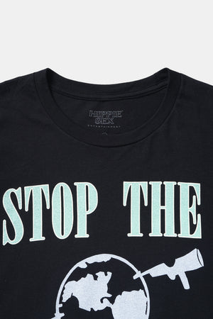 STOP THE MADNESS S/S Tee/ Hippie Sex