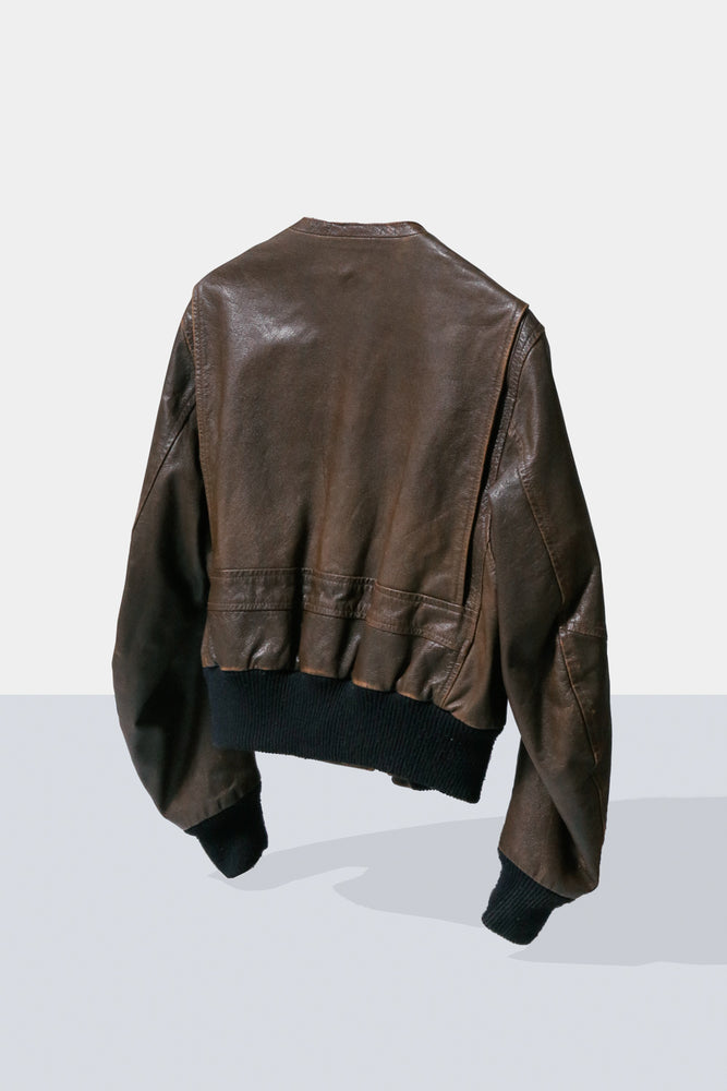 Half Office / Martin Margiela Leather JKT