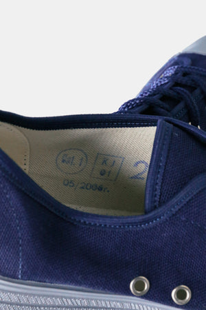 Poland Military Canvas Shoes / Navy