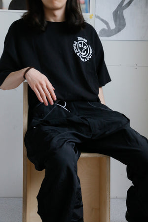 Over-dyed US Snow Cargo Pants / Black