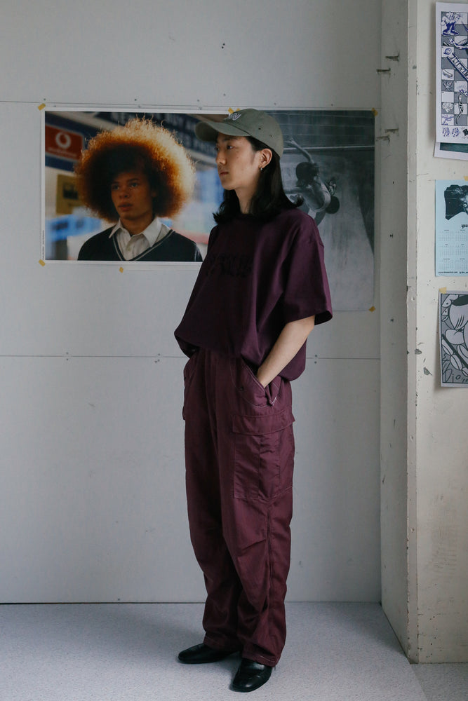 Over-dyed US Snow Cargo Pants / Purple