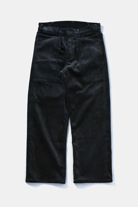 TUKI Corduroy Patched Work Pants (Moss Green)