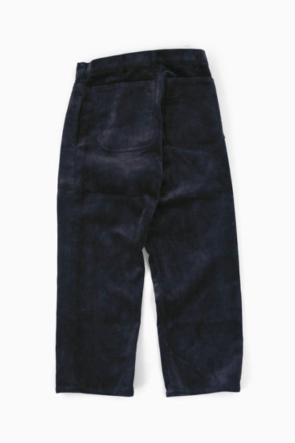 TUKI Corduroy Patched Work Pants (BLK)
