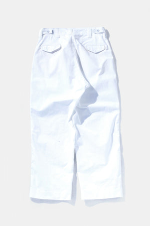 TUKI Field Trousers White