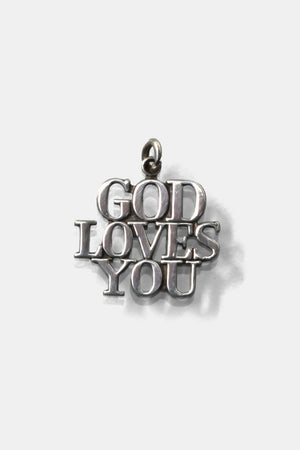 Tiffany Pendant Top / GOD LOVES YOU
