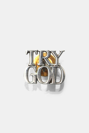 Tiffany Pins / TRY GOD