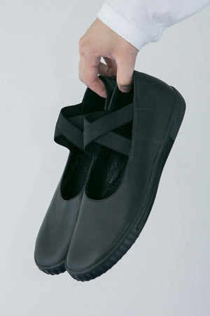 VOID Leather Shoes (BLK)