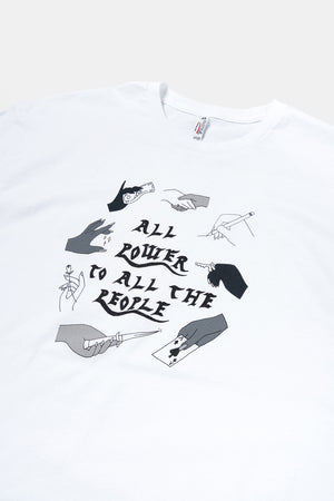 All Power to All the People T-shirt / Small Spells