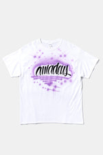 Airbrush Tee(Purple) / Amadeus Magazine