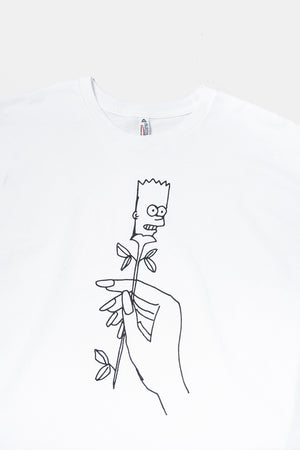 Bart Rose T-shirt / Small Spells