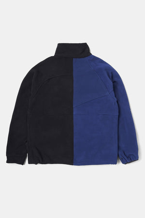 Custom Bicolor Company Fleece JKT Blue x Black #2