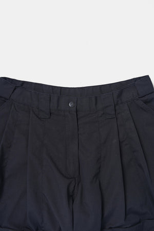 Black Rip-Stop Cargo Custom Shorts