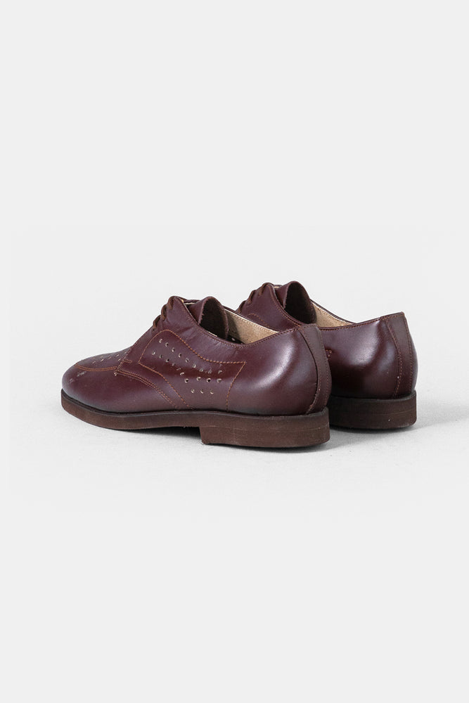 Czech Military Leather shoes / Brown