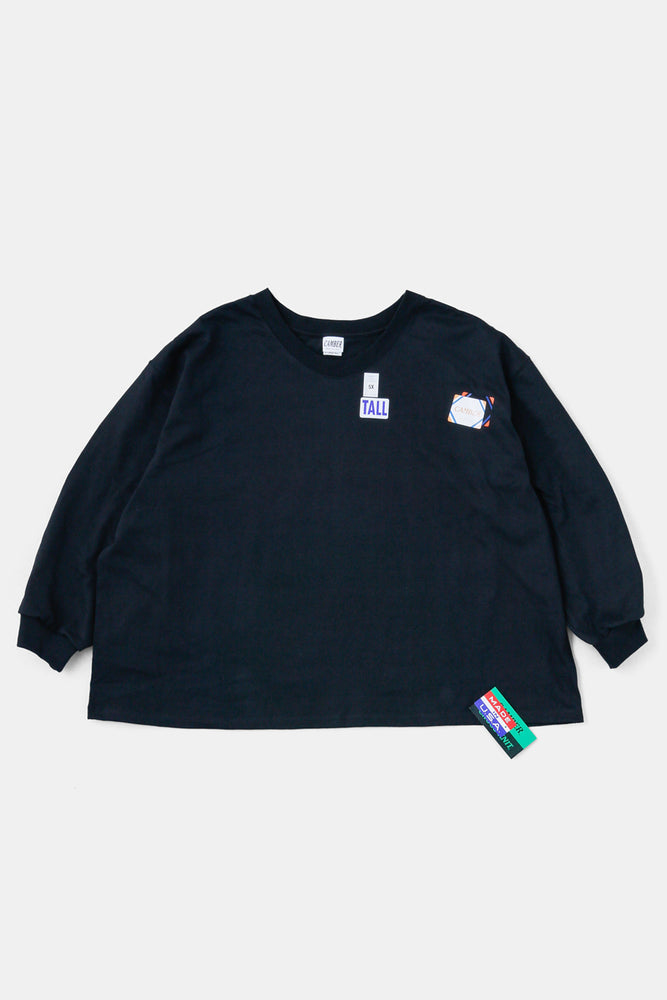 CAMBER 5XL L/S TEE BLACK