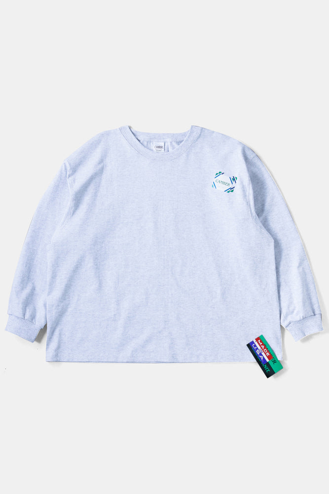 CAMBER L/S BIG TEE GRAY