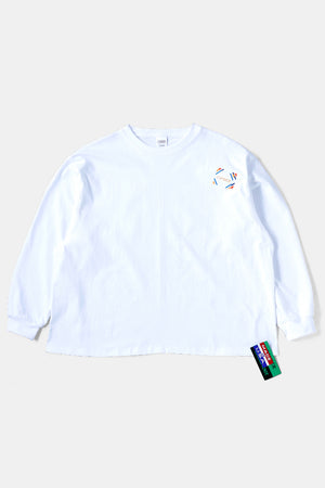 CAMBER L/S BIG TEE WHITE
