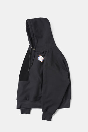 CAMBER Reverse Bicolor Big Sweat Parka / Black