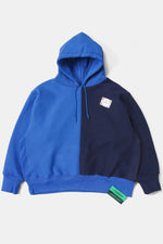 CAMBER Bicolor Big Sweat Parka / Blue