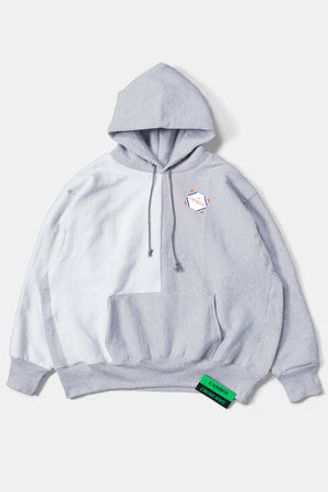 CAMBER Reverse Bicolor Big Sweat Parka / Gray