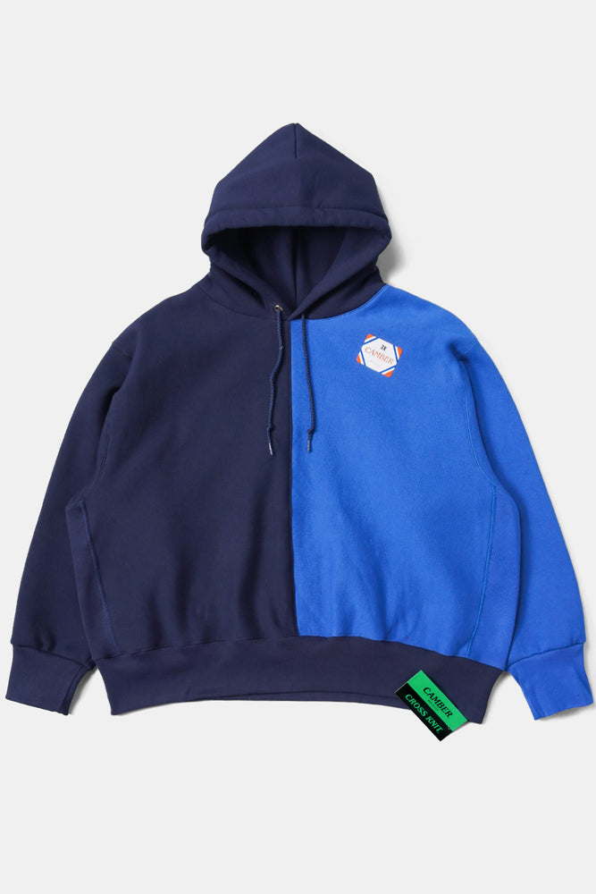 CAMBER Bicolor Big Sweat Parka / Navy
