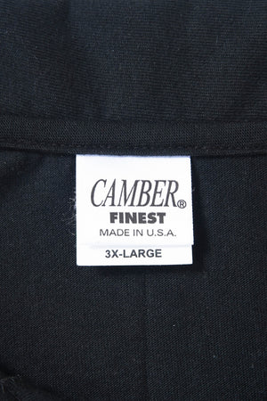 CAMBER 3XL S/S POLO BLACK